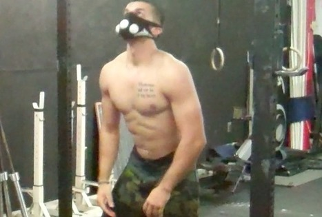 Using The Training Mask 2.0 For Bar Muscle Ups & Burpees - | fitness apparel and crossfit gear | Scoop.it