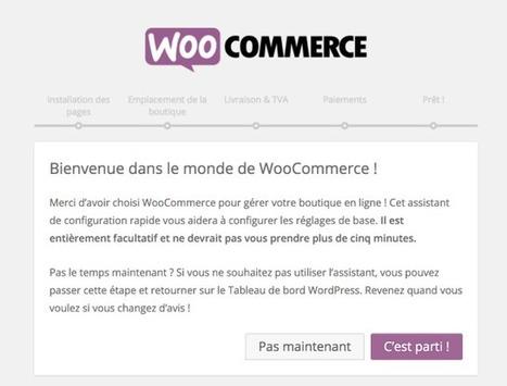 WooCommerce : Créez une boutique en ligne avec WordPress | Tout l'univers Joomla et Wordpress | Scoop.it
