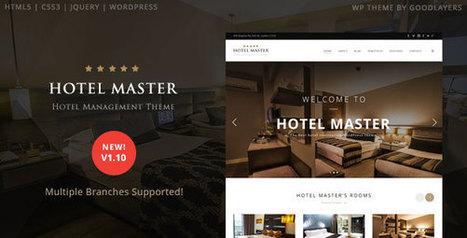 Hotel Master v1.11 - Hotel Booking WordPress Theme | Technology Nutshell | Scoop.it