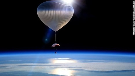 Space travel : U.S. company to offer 30 km-high balloon flights | The Blog's Revue by OlivierSC | Scoop.it