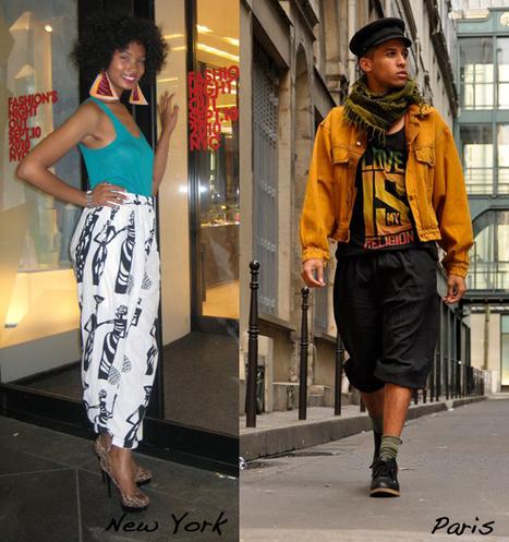 Swagger Mondays: Paris vs. New York «  The Fashion Bomb Blog /// All Urban Fashion… All the Time - All Urban Fashion // All the Time   Street Style   Scoop.it