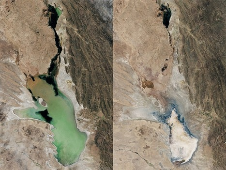 Bolivia's second-largest lake has officially evaporated | Remote Sensing | Scoop.it