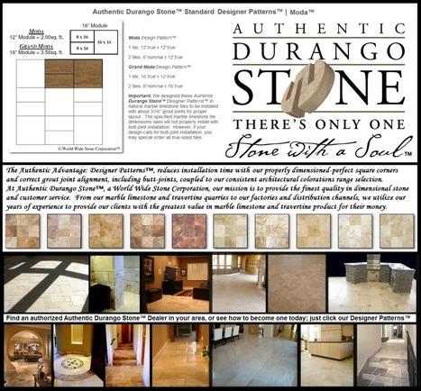 6 of 13 West Coast Travertine Tile Flooring Design Patterns | Popular Marble Limestone Travertine Tile Patterns | Scoop.it