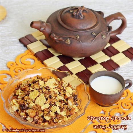 Stovetop granola | Indian Healthy Recipes | Healthy Eating - Recipes, Food News | Scoop.it