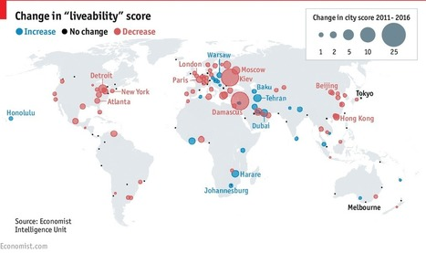 The world's most liveable cities | Lorraine's Place and Liveability | Scoop.it