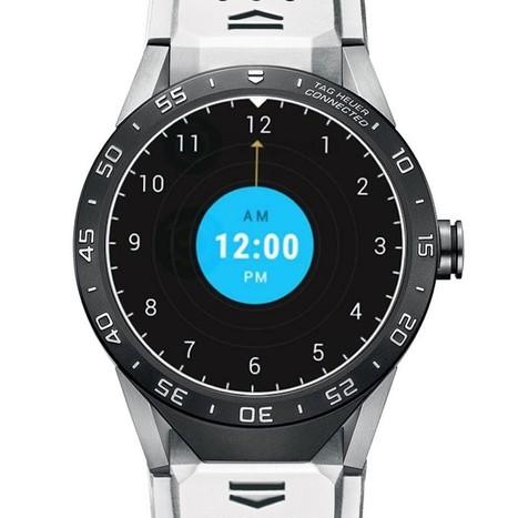 TAG Heuer Carrera Connected Blanc Bracelet SAR8A80.FT6056 Replique | replique montres pas cher | Scoop.it