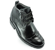 Black men add height boots that make you taller 9cm / 3.54inch | Elevator Height Boots for Men Taller | Scoop.it