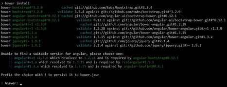 Why We Should Stop Using Bower - And How to Do It | VisualData | Scoop.it