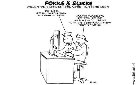 Fokke en Sukke willen de beste school voor hun kinderen   Opvoeden tot geluk   Scoop.it