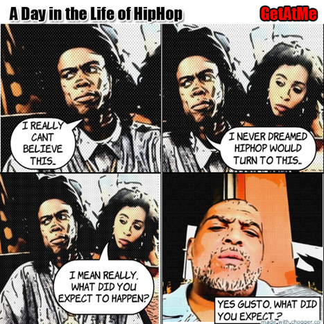 GetAtMe A Day In The Life Of HipHop'- what did you expect MC Gusto.... #ItsAboutTheCultureOfHipHop | GetAtMe | Scoop.it