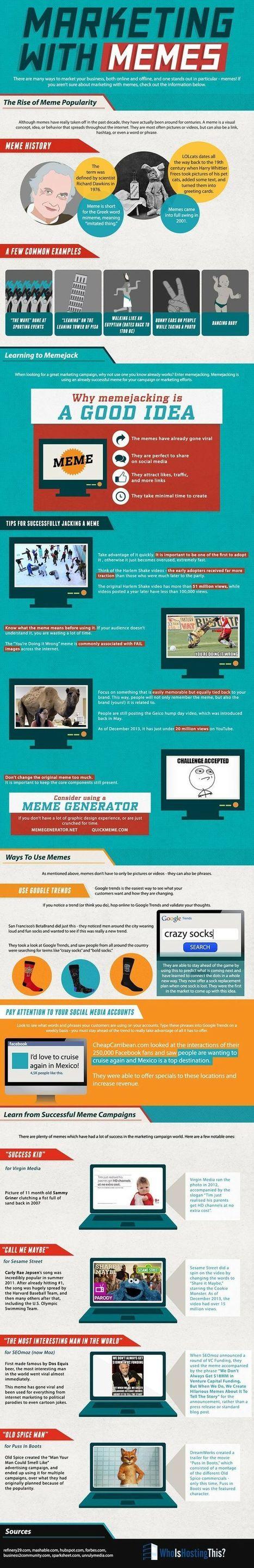 Marketing with memes | Seo, Social Media Marketing | Scoop.it
