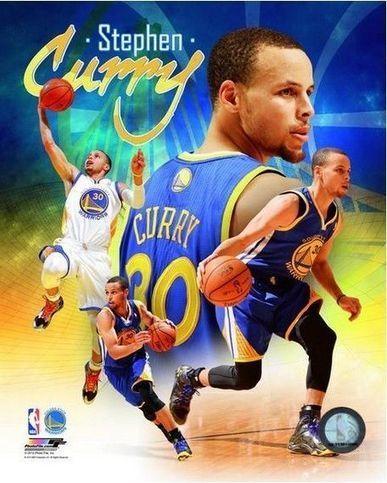 "Stephen Curry Golden State Warriors 2014 NBA Composite Photo (Size: 8"" x 10"") | Splash | Scoop.it"
