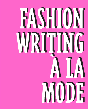 Seminar | Fashion Writing 3/25 | Fashion PR and Journalism | Scoop.it
