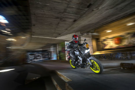 FIRST RIDE: 2017 YAMAHA MT-09 REVIEW | M A G | Scoop.it