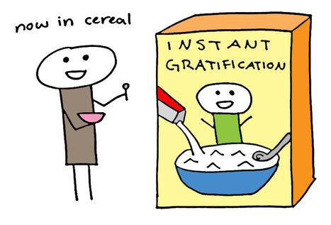 Redefining Gratification | Curation Revolution | Scoop.it