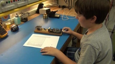 You might be a geeky dad if: your kids practice spelling in Morse code - Hack a Day | Electrónica y Arduino | Scoop.it