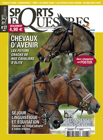 Les futurs cracks sont dans le nouveau Sports Equestres | Leperon.fr | Scoop.it