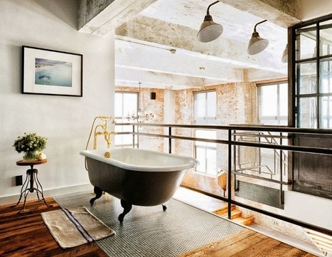 Interiors | Brooklyn Loft Apartment | Interior Design - Interiorisme | Scoop.it