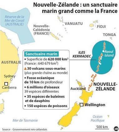 Kermadec, un immense sanctuaire marin créé par la Nouvelle-Zélande   Chronique d'un pays où il ne se passe rien... ou presque !   Scoop.it