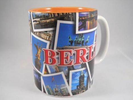 Kaffeebecher Berlin; Klassische Berlin Souvenirs, Mitbringsel | Berlin Souvenirs, Geschenke und Sri Lanka Ayurveda  #Shopping | Scoop.it