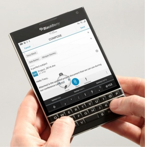 BlackBerry Passport Re-Invents the Mobile Keyboard, Take A Look | Mobile Technology | Scoop.it