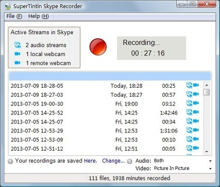 Skype Recorder | How to Record Skype | Skype Video Call Recorder | Collaboration tools and news | Scoop.it