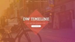 DW Timeline Free Timeline WordPress Theme from DesignWall | Free & Premium WordPress Themes | Scoop.it
