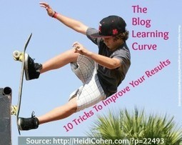The Blog Learning Curve: How To Improve Your Results - Heidi ... | wemix | Scoop.it