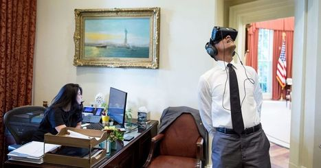 Obama lost in virtual reality prompts hilarious Photoshop battle | 3D Virtual-Real Worlds: Ed Tech | Scoop.it