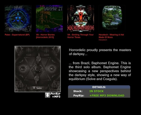 uPDATED hORRORDELIC.COM - aLL rELEASE 4 DOWNLOAD HERE | Horrordelic Records Darkpsy World | Scoop.it