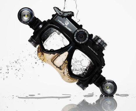 Scuba Mask POV Camera Sees Everything Under the Sea   Gadgets I lust for   Scoop.it