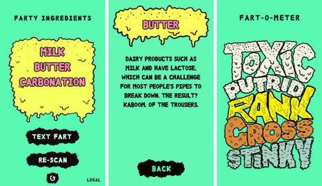 A New App Uses Fart Power To Teach Kids About Nutrition | MarketingHits | Scoop.it