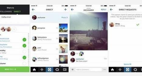 Instagram agora permite enviar fotos diretamente para amigos | Anotações Doutorado | Scoop.it