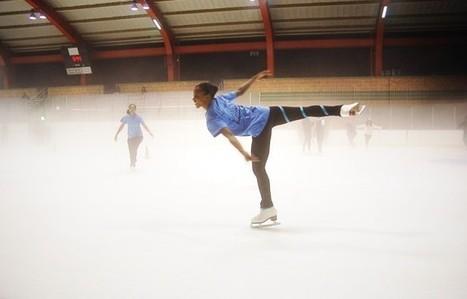 Girls skate through school with Figure Skating in Harlem - Metro.us | skate | Scoop.it