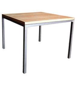 Dadra | Mesas de hierro y madera estilo industrial medida | MESA COMEDOR HIERRO NEO MADERA ROBLE ENVEJECIDA | Muebles de estilo industrial de hierro | Scoop.it