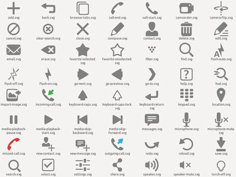 Ubuntu Mobile Icon theme a été mis à jour en version 0.0.9 et ... | ubuntu | Scoop.it