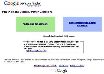 Boston Bombing: How Google, Social Media And Cloud Bring Hope Amid Tragedy - Forbes | Cloud Story | Scoop.it