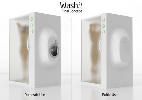 Washit Concept Recycles Shower Water For Your Laundry - a practical idea! | Water Stewardship | Scoop.it