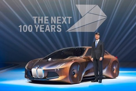 BMW looks to the future with shape-shifting Vision Next 100 concept | Designing the future | Scoop.it