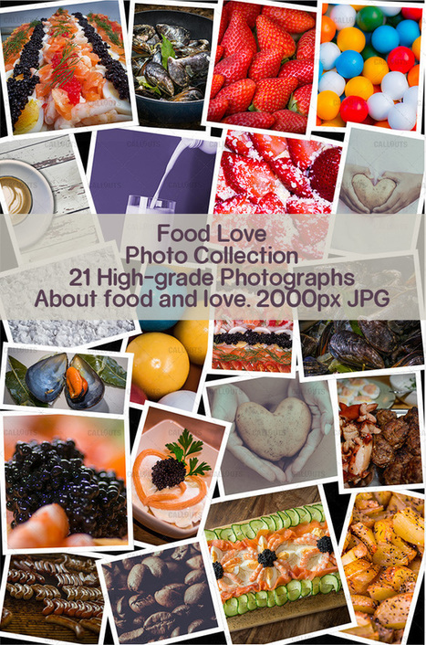 February 2016 Food and Love Presentation Resources | Snagit Stamps | Scoop.it