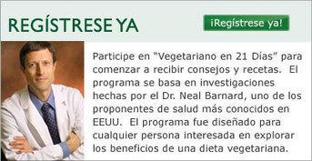 Vegetarianoen21dias.org / Physicians Committee for Responsible Medicine (PCRM) | Paz y bienestar interior para un Mundo Mejor | Scoop.it
