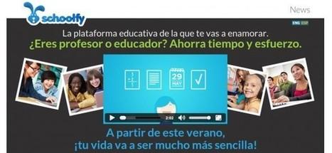 Schoolfy – Profesores y educadores creando su propia red social para gestionar sus clases | MEDIA´TICS | Scoop.it