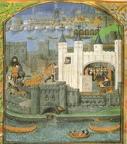 Kings in the Tower of London | History Today | Medieval life | Scoop.it