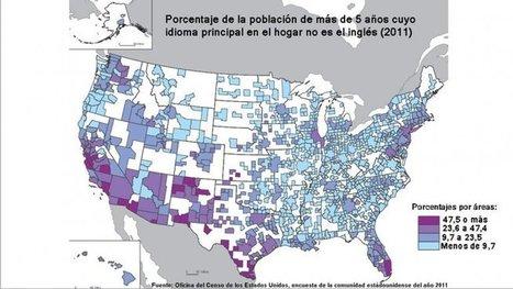 EEUU: 37 millones de personas hablan español en su hogar   Latinos en EEUU, Estados Unidos   Spanish in the United States   Scoop.it