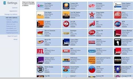 Radio Player Live, escucha radios online desde Chrome seleccionando emisoras de un amplio catálogo | OERs, OARs, Apps, | Scoop.it