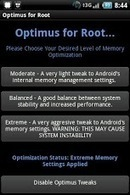 Optimus Root Memory Optimizer - Applications Android sur Google Play | Android Apps | Scoop.it