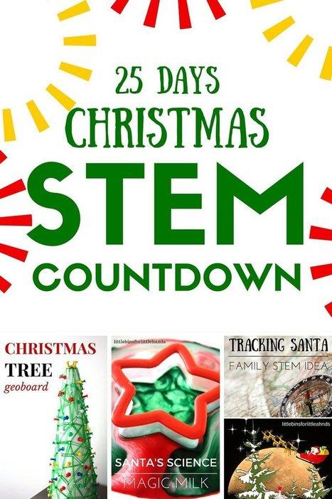 Christmas STEM Countdown Calendar Science Advent Idea | Loans Till Payday | Scoop.it