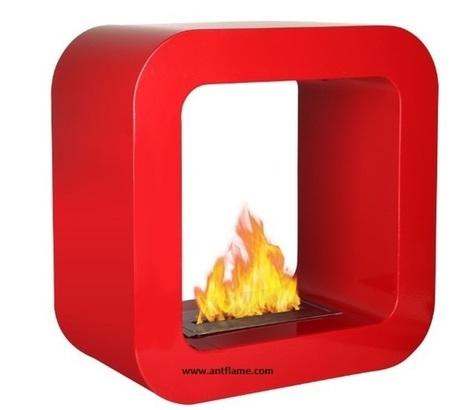 Free Standing Fireplaces | Antflame Bio Ethanol Fireplace-Bacasız Şömine | Scoop.it