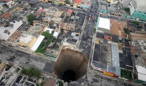 Striking sinkholes: Earth opens up | Chris' Regional Geography | Scoop.it