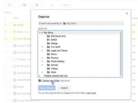 Οι 5 μικρές βελτιώσεις του Google Drive   Informatics Technology in Education   Scoop.it